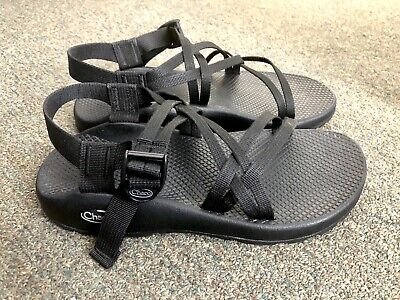 5f2ac8ce0a83 Women s CHACO ZX1 CLASSIC Double Strap Sport Sandals Black Size 9W   9 WIDE