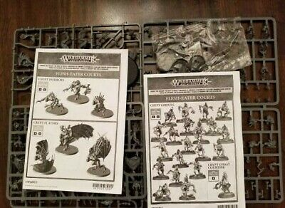 Warhammer Age of Sigmar Flesh Eater Courts Crypt Horrors / Flayers & Ghouls NEW