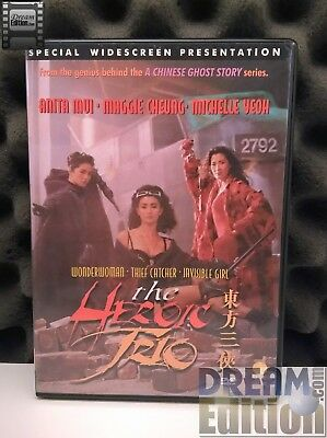 Heroic Trio, The [dir. Johnny To; Michele Yeoh] (1993) HK Action Fantasy [DEd]