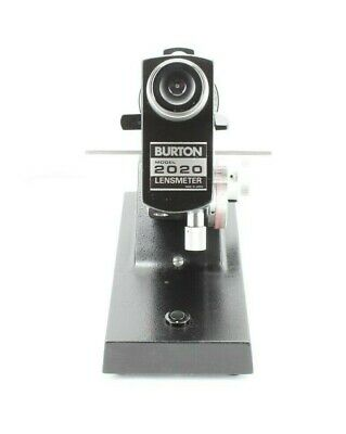 Burton 2020 Lensmeter, Very Nice Preowned instrument. +/- 30D! Ships Free!*