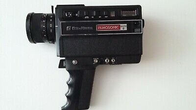 Bell & Howell 1238 Vintage Cine Camera Complete with other Cine Items (Package)