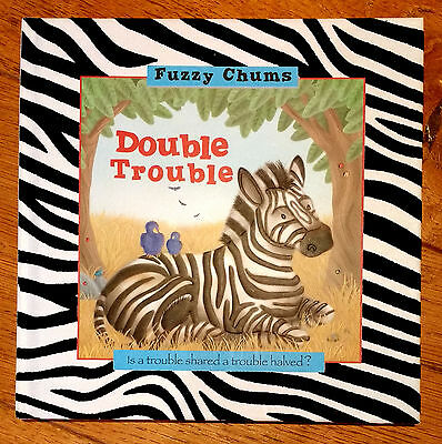 """Double Trouble"" Fuzzy Chums book by Laura Watkins *superb condition*"