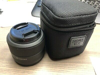 Sigma 30mm F2.8 EX DN Prime Lens For Sony E-Mount