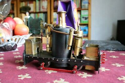 16mm Scale SM32 Live Steam Locomotive Dave Watkins Idris DeWinton Project