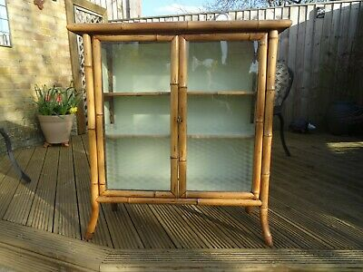Antique Chinese Bamboo Cabinet