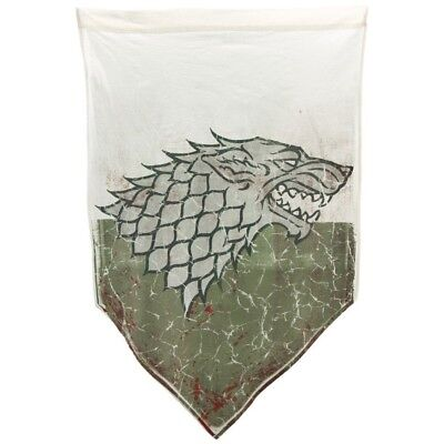 Game of Thrones 27x45 House Stark Battle Worn Distressed Banner