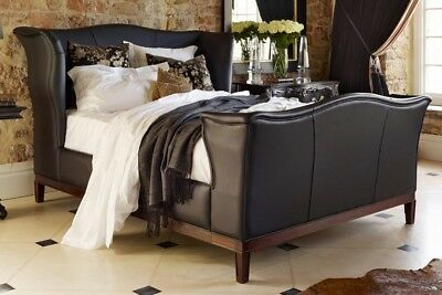 And So To Bed London Churchill Leather Bed 6Ft Super King