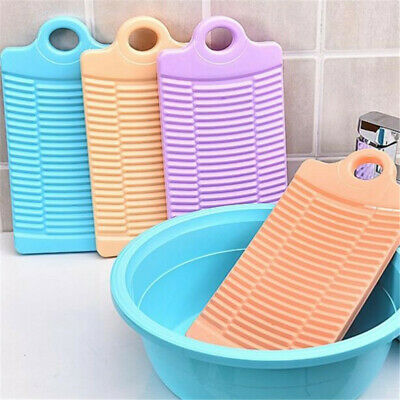 Anti-skid Washboard Home Thick Plastic Small Size Hand-held Clothes Hand Wash