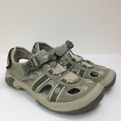 6f054e630927 Women s TEVA Sage Green Fisherman Waterproof Sports Hiking Comfort Sandals  Sz 7