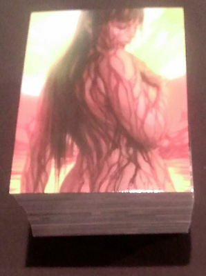 2012 Breygent All-New Vampirella Complete Base Set 1-72  !