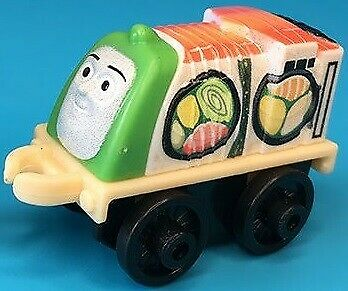 Fisher-Price Thomas /& Friends Minis Sushi Bertie 4cm Bagged Collectable Tra...