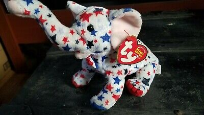 a9e7a16168b NEW RARE TY RIGHTY 2004 the ELEPHANT BEANIE BABY - MINT TAGS -  4.50 ...