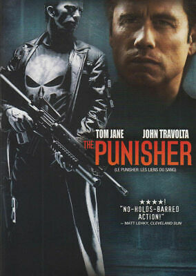 The Punisher (DVD, 2004) Bilingual FREE SHIPPING IN CANADA