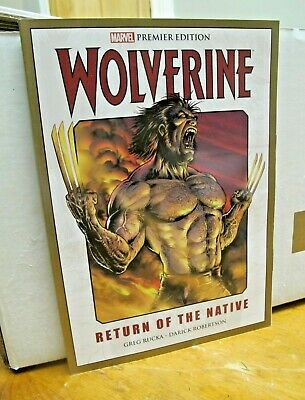 Marvel Graphic Novel - Wolverine - Return of the Native
