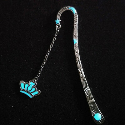 1X Luminous Nights Star Bookmark Label Read Maker Feather Book Mark Stationery C