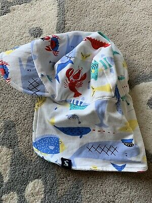 Joules Baby Reversible Sunhat 0-6 Months