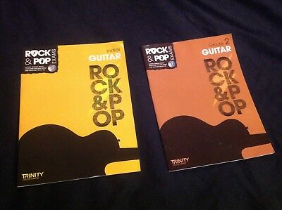 Trinity College Rock & Pop Exams 2017 Guitar Initial & Grade 2 Two Books With Cd
