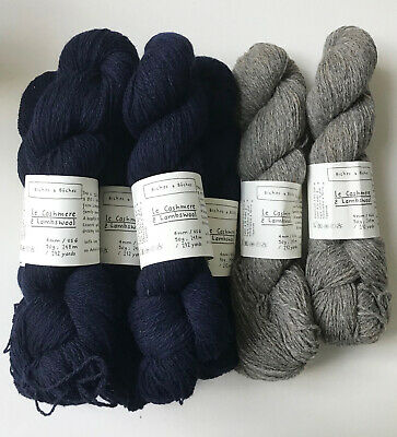 7 x Skeins Biches et Buches Le Petit Cashmere & Lambswool; RRP £129.50 at Loop