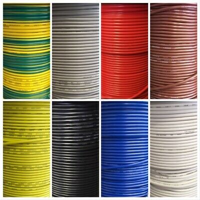 6mm  53A 12V Tri Rated Cable Panel Wiring Loom Automotive Auto Wire
