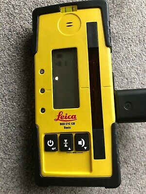 Leica  Rod Eye 120 Basic Receiver and Bracket. New Condition