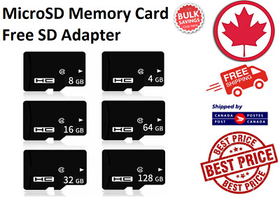SanDisk Micro SD Card TF 4GB 8GB 16GB 32GB 64GB SDHC SDXC for Phone PC Laptop