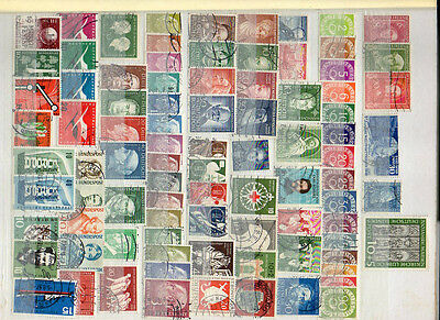 West Germany Used 1949-57 Collection Of Vals Sets & Mini Sheets, High Cat Value