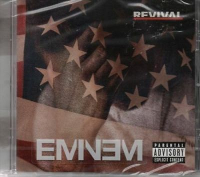 Eminem - Revival *new & Sealed Cd Album* Ed Sheeran/beyonce/alicia Keys