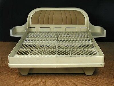 James Seccombe modular plastic 'Fashion' bed frame 1960s jigsaw bed