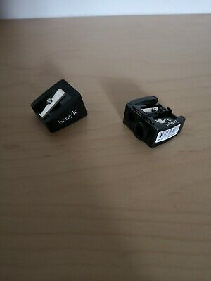 Two Benefit pencil sharpeners - Jumbo and Dual Brand New