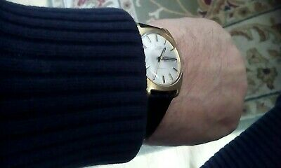 Vintage Avia Matic G.p. Swiss Automatic Watch With Day&Date Serviced Oiled