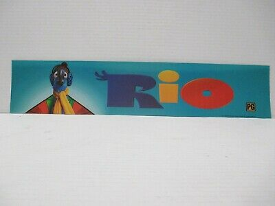 2011 Rio Marquee Lightbox Strip Movie Theater Promotional Display