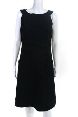 f7dd9a950a8c Chanel Womens Textured A-Line Strapless Knee-Length Dress Size Euro 40  LL19LL