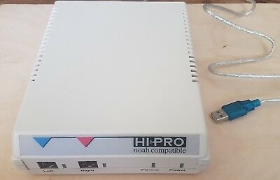 GN OTOMETRICS HI-PRO HEARING AID PROGRAMMER AUDIOMETER AUDIOLOGY cable