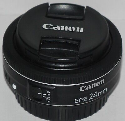 Canon EF-S 24mm f/2.8 STM 'pancake' prime lens in excellent condition