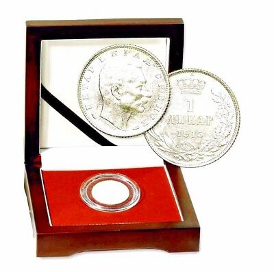 Black Hand: Assassination of The Archduke & The Great War Silver Serbia Coin Box