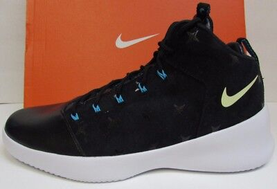 cheap for discount a69f7 fcc4d Nike Size 8.5 Black High Top Sneakers New Mens Shoes