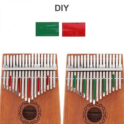 17 Key Kalimba Single Board Mahogany Thumb Piano Mbira Keyboard Instrument Kid