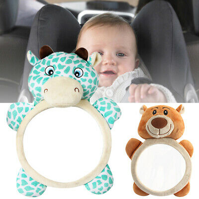 Baby Seat Back Mirror Wide View  Child Rear Car Safety Headrest Mount Adjustable