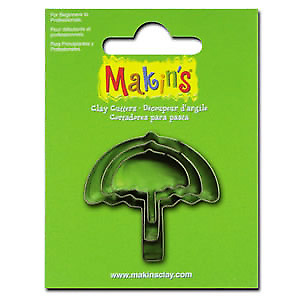 UMBRELLA (set of 3) Makins Clay & Cookie Cutters