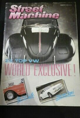 Street Machine - Car Magazine From August '87
