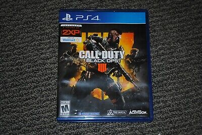 Call of Duty: Black Ops 4 (PlayStation 4, 2018) COD PS4