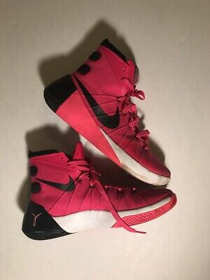 on sale abc6e 983a1 Nike Hyperdunk 2015 Pink Breast Cancer Think Pink 749561-606 Men s Size 10  EUC