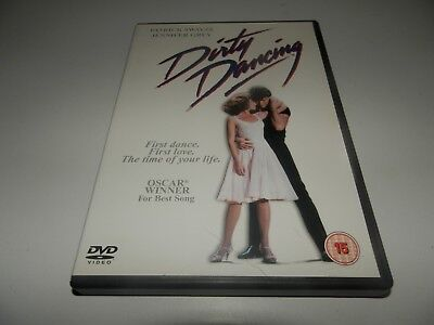 Dirty Dancing (DVD, 2001) - Swayze, Grey - Rated 15, Region 2, PAL.