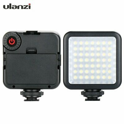 Ulanzi 49 LED Video Light Dimmable Hot Shoe Video Light for Canon Nikon Phone