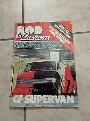 Hot Rod And & Custom UK Car Magazine literature Collectable 1980