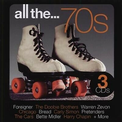 ALL THE 70s seventies NEW 3CD foreigner doobie bread cars dury carly 101 70s