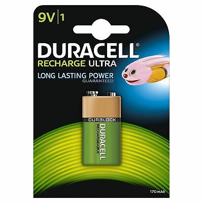 Duracell Recharge Ultra 170mAh 9V Type NiMH Battery