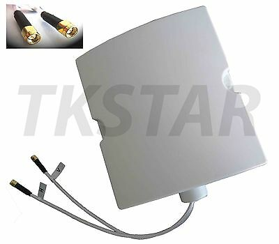 Multi Frequency bar Outdoor Antenna 2x SMA Port Router LTE 2600 1800 900 MHZ