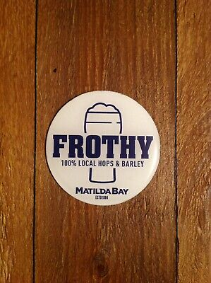 Frothy Beer Magnetic Decal