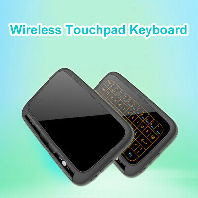 H18+ 2.4Ghz Mini Wireless Keyboard Touchpad Backlight for Windows PC TV AC1305